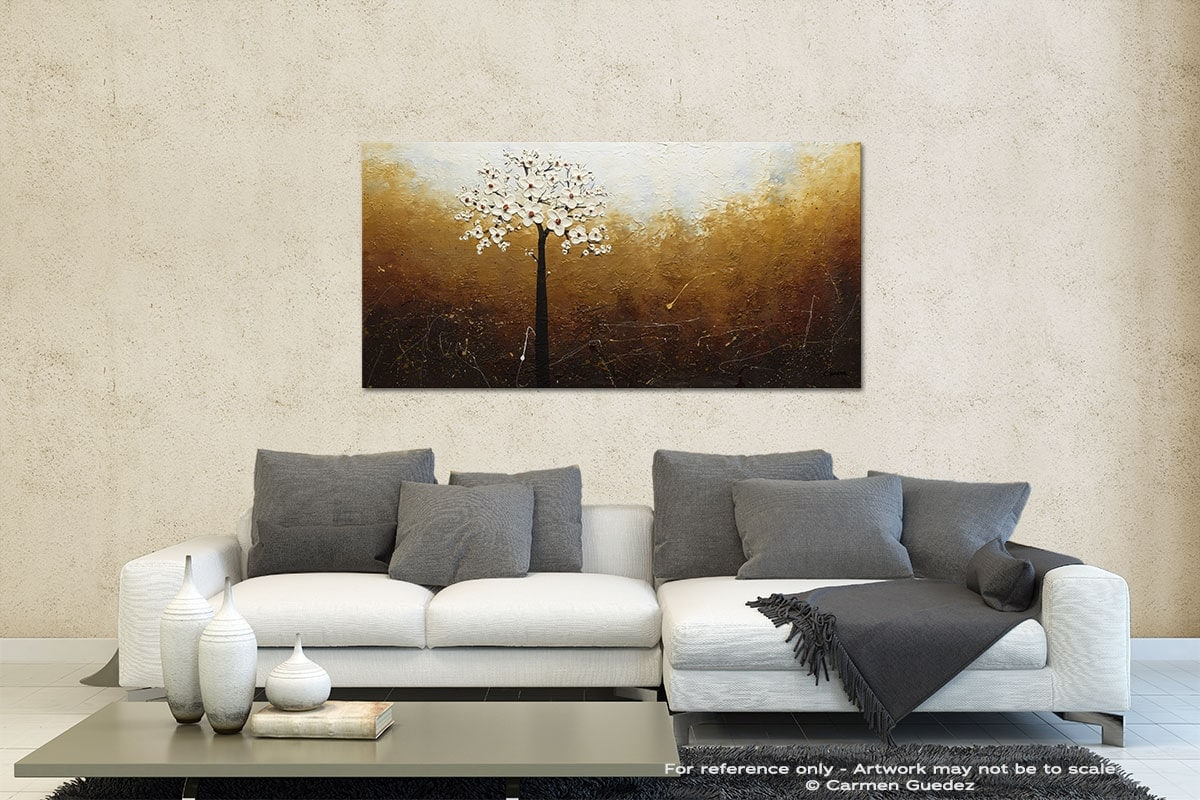 In Like A Lamb Contemporary Abstract Art Id35