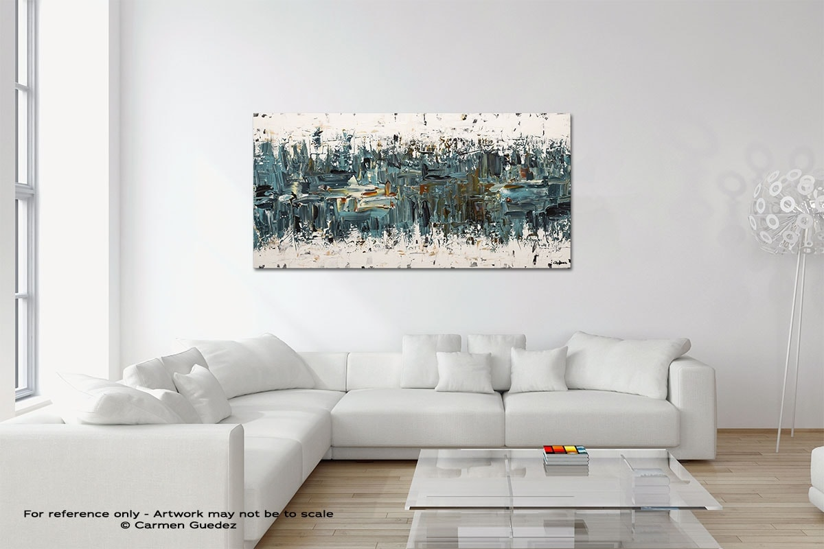 Incognito Original Neutral Abstract Wall Art Room Id39