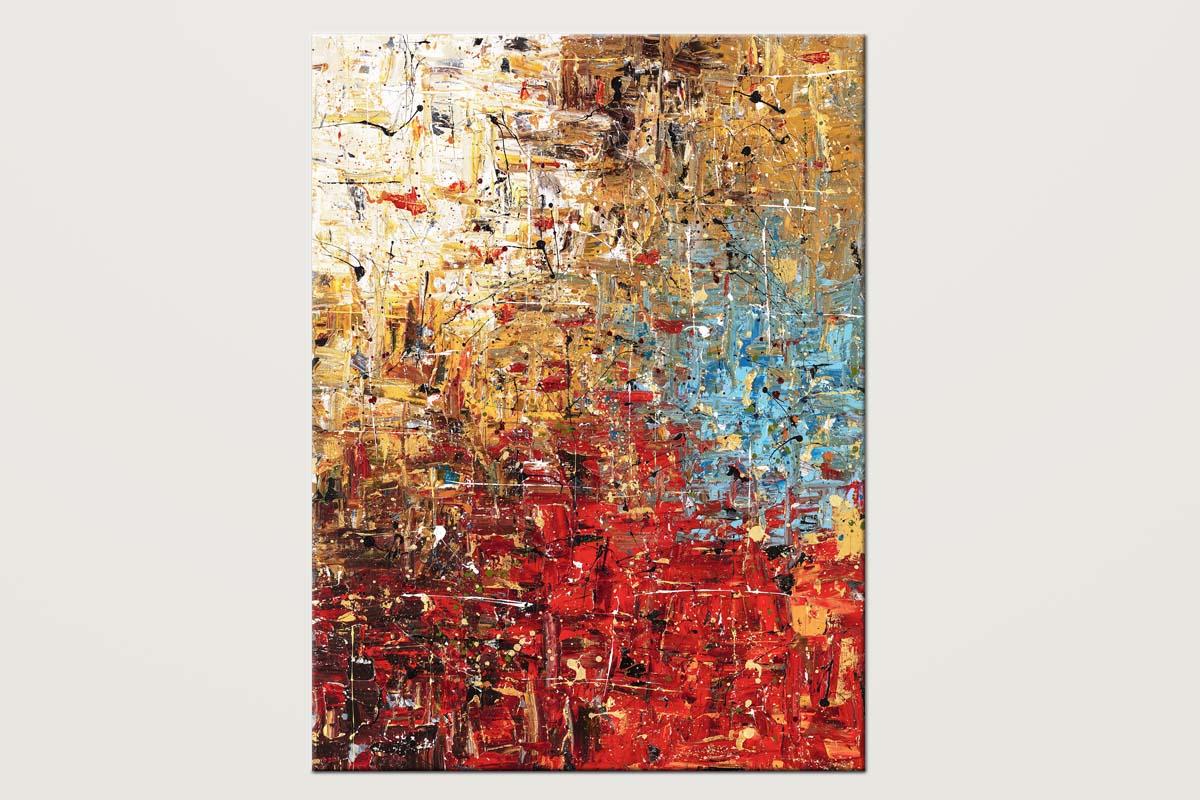Infinite Joy Handmade Abstract Wall Painting V1 Id80