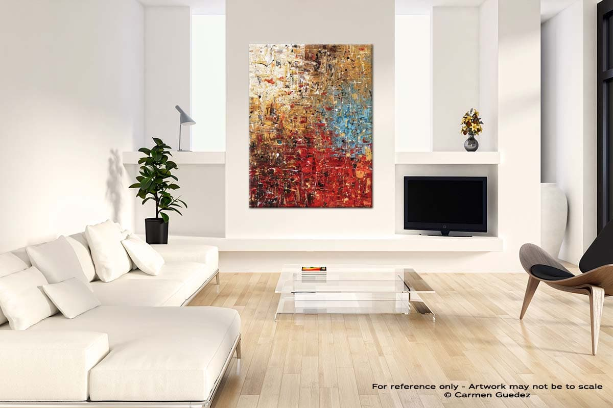 Infinite Joy Neutral Wall Abstract Painting Living Room Id55