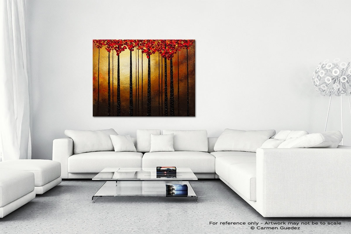 Into The Light Canvas Art Abstract Painting Id47