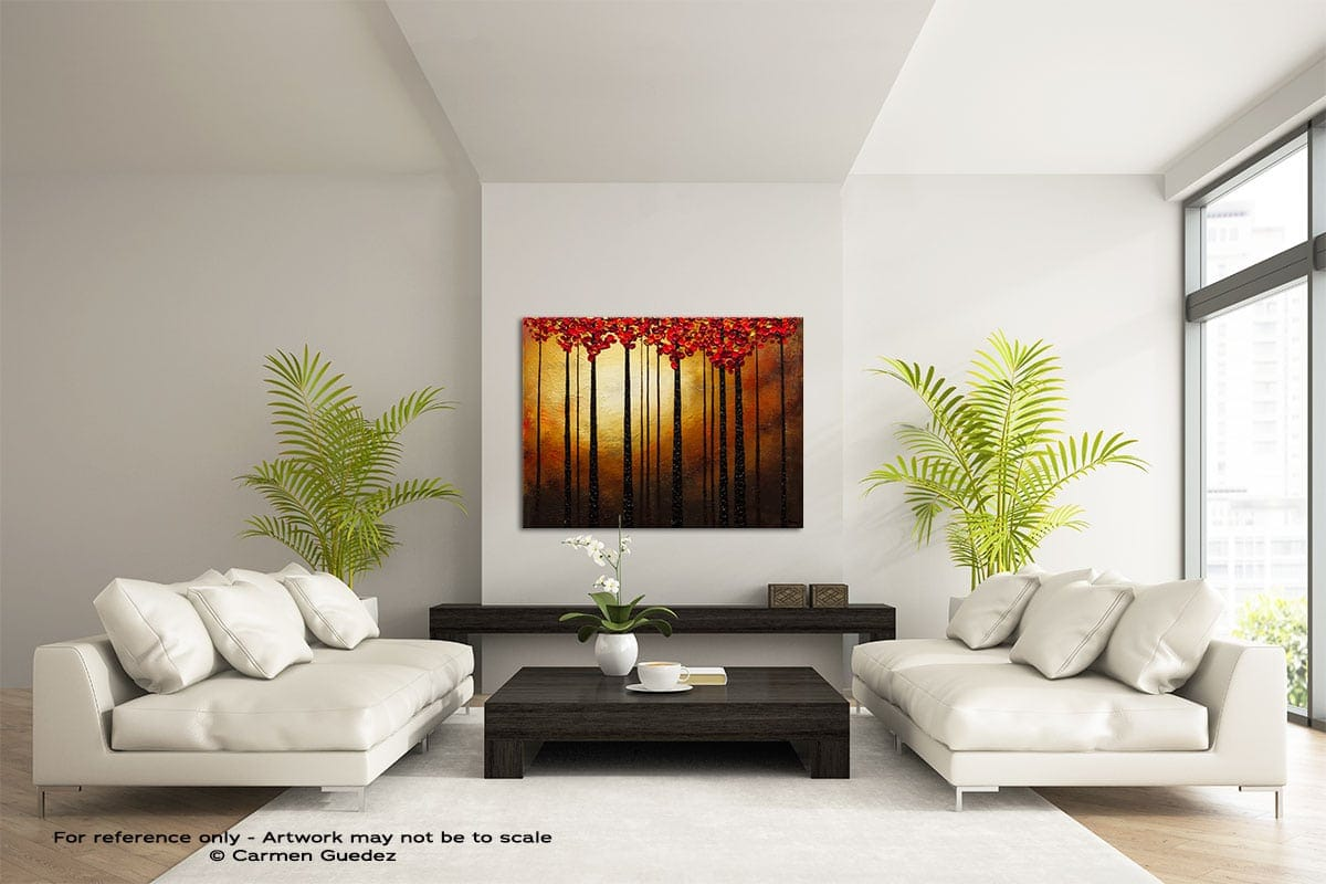 Into The Light Large Modern Abstract Art Painting Id49