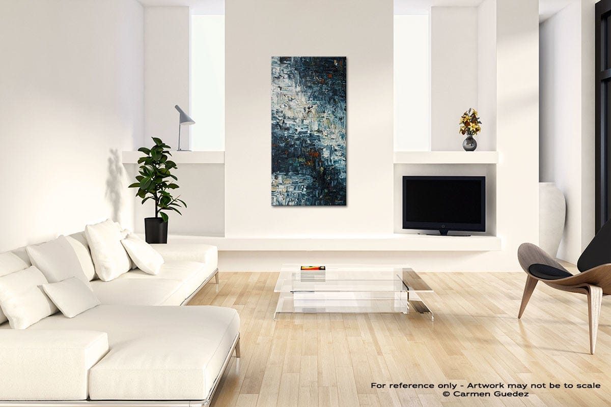Island Falls Modern Abstract Painting Home Design Id41