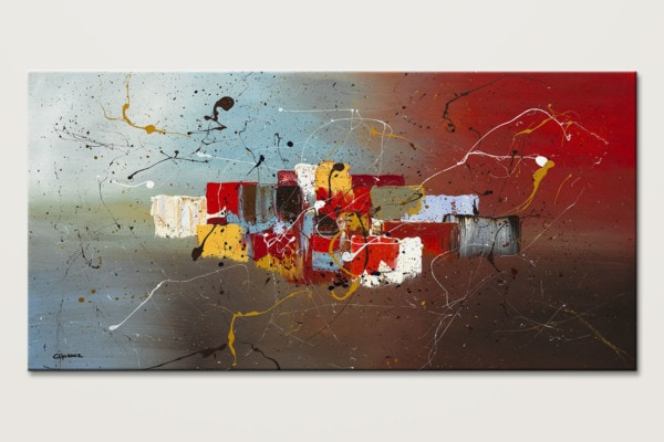 It S My Birthday Modern Abstract Painting Id80