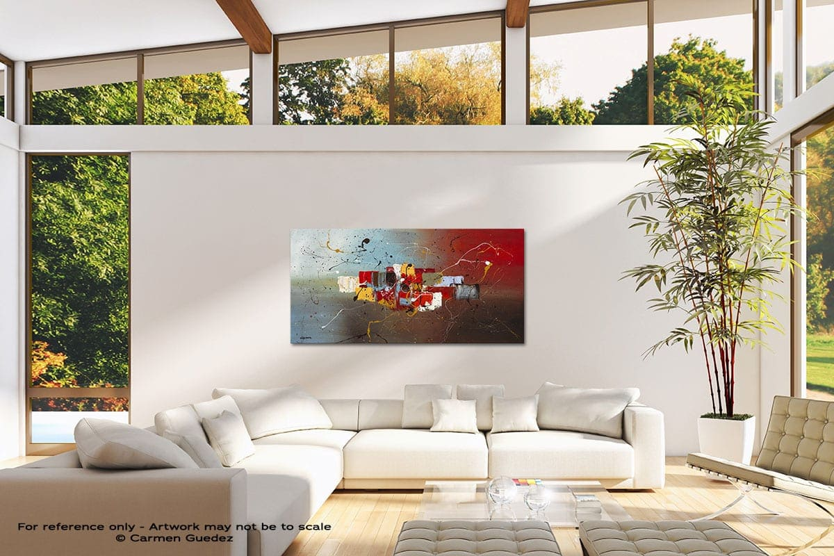 Its My Birthday Modern Canvas Abstract Art Id38