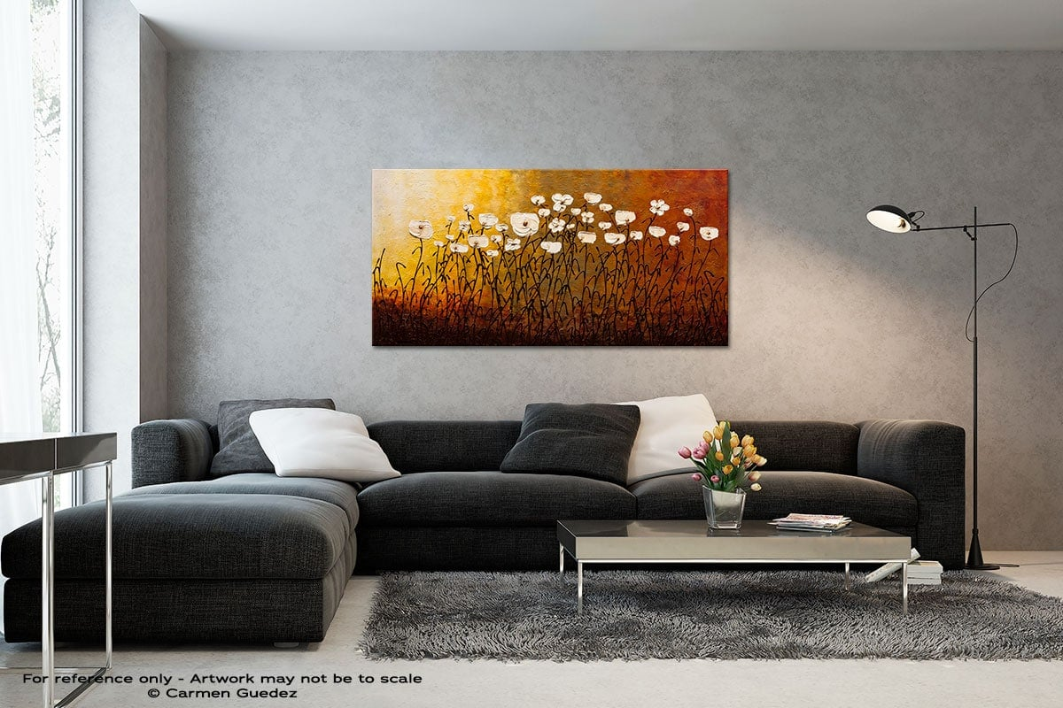 Jardin Botanique Black And White Wall Abstract Art Painting Id70