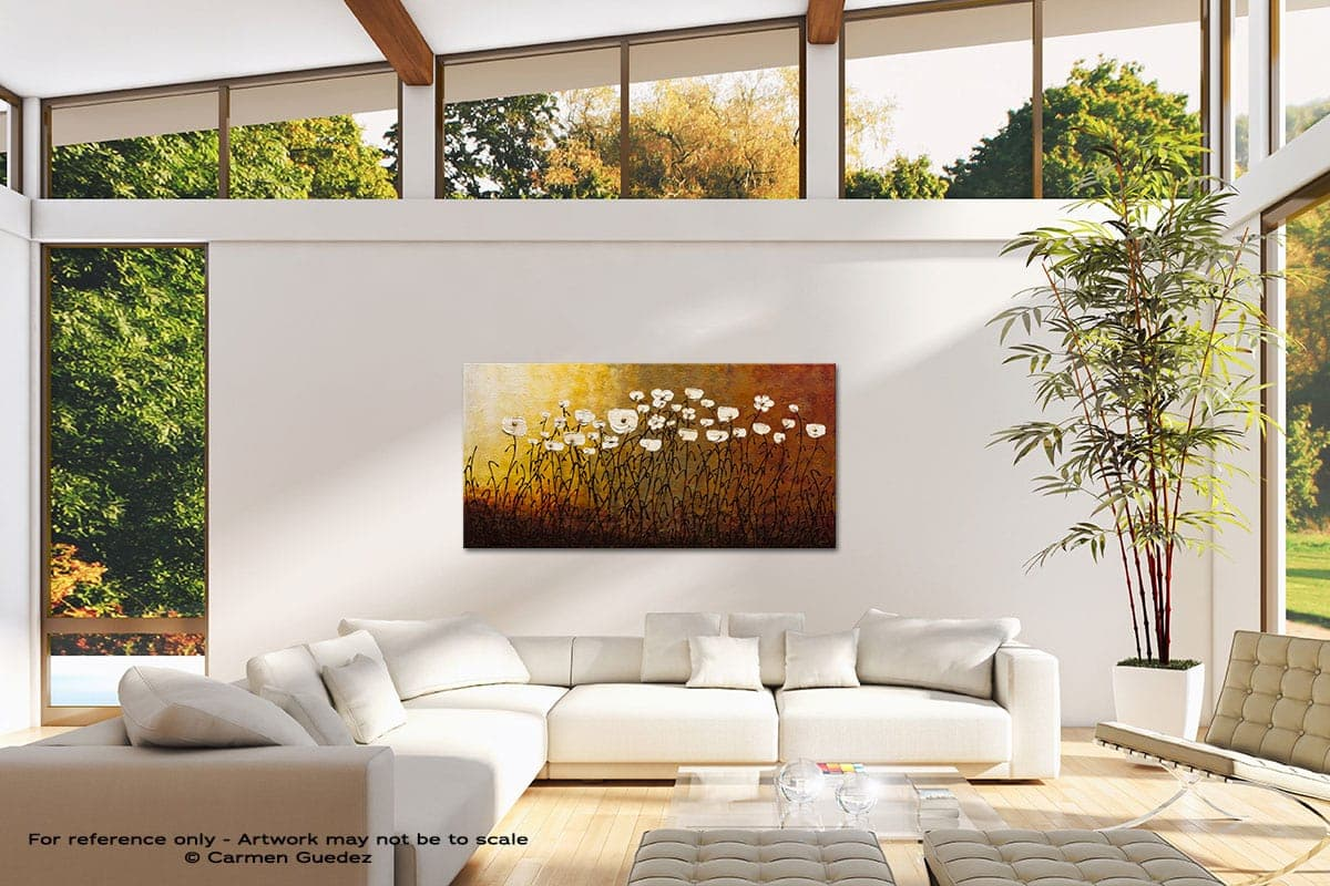 Jardin Botanique Modern Canvas Abstract Art Id38