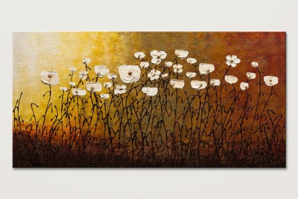 Jardin Botanique Original Abstract Art Painting Id80