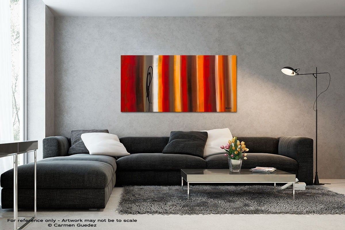 Juxtaposition Black And White Wall Abstract Art Painting Id70