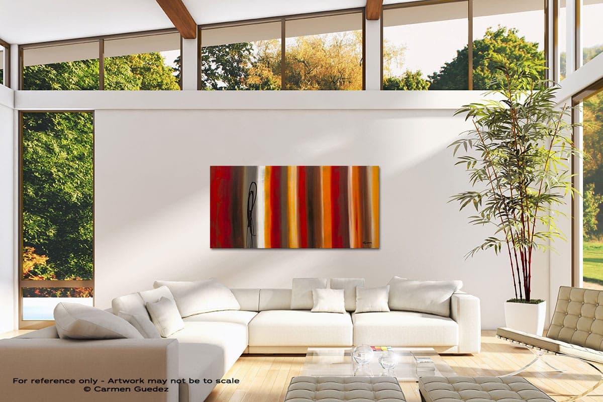 Juxtaposition Modern Canvas Abstract Art Id38