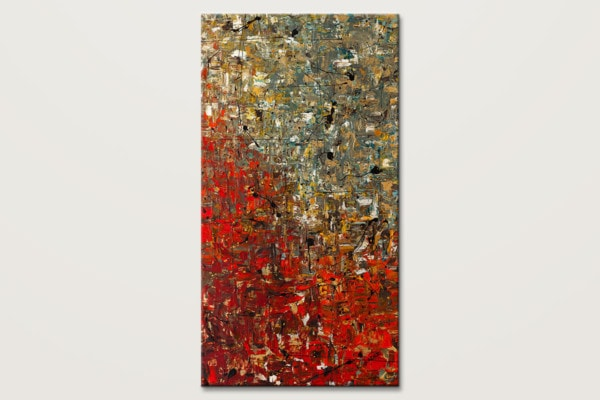 La Fontaine Extra Large Abstract Art Painting Id80