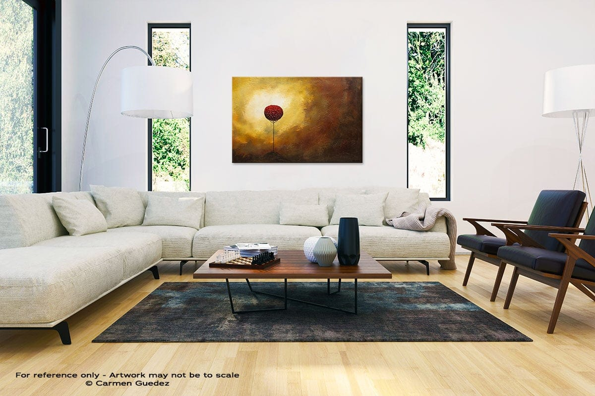 La Vie Est Belle Abstract Painting Interior Decor Art Id61