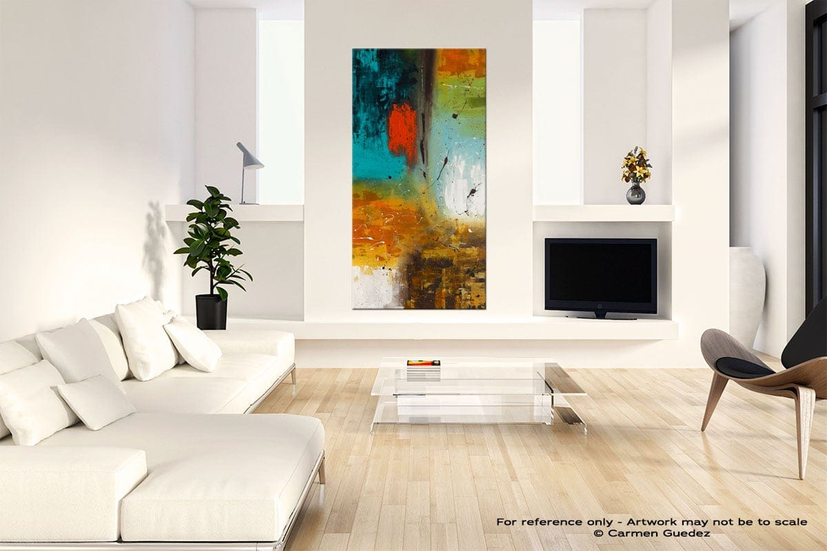 Landmarks Neutral Wall Art Abstract Painting Id14