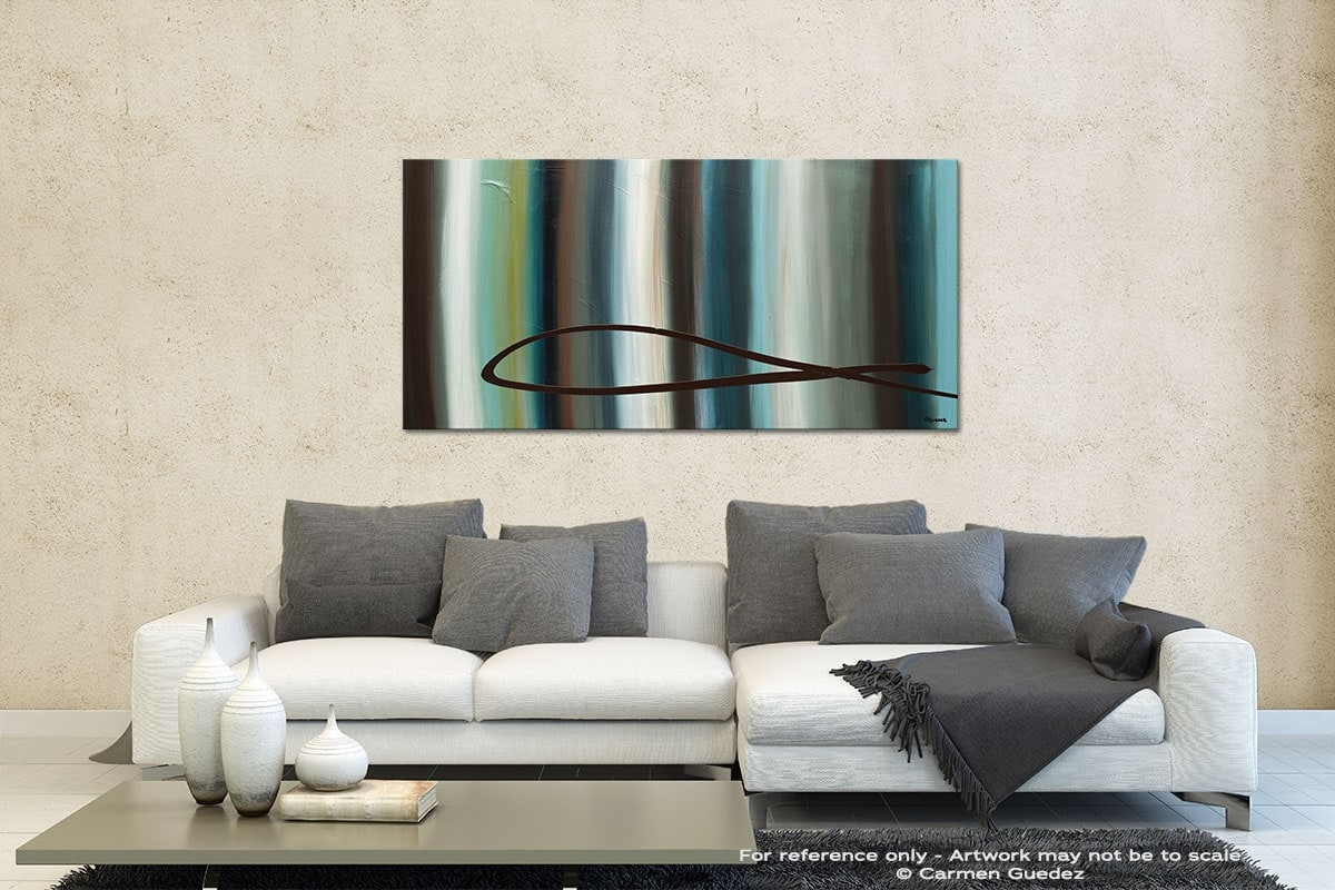 Le Onde Contemporary Abstract Art Id35