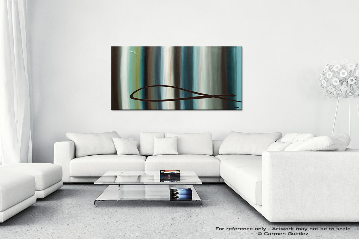 Le Onde Wall Art Canvas Painting Id40