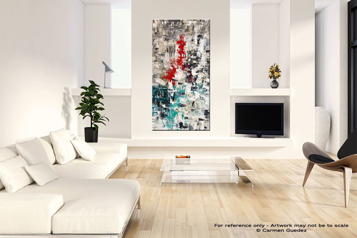 Le Paris Neutral Wall Art Abstract Painting Id14