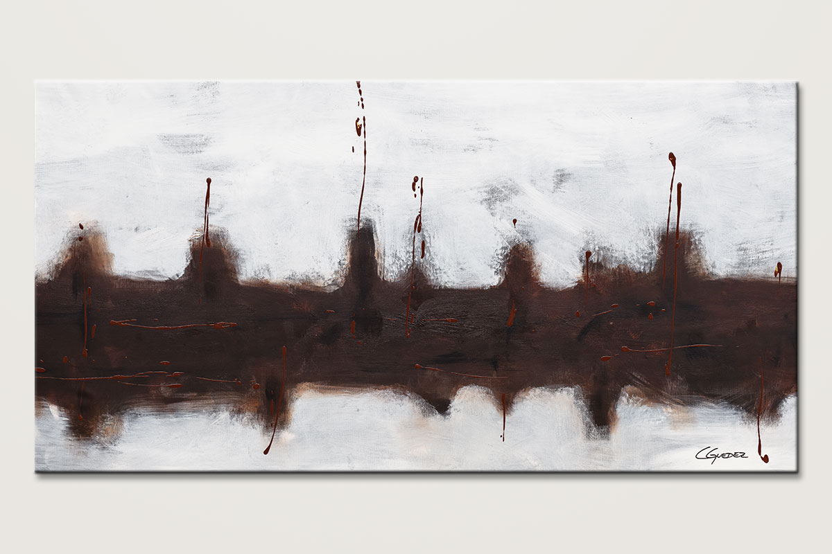 Le Port Huge Oversized Abstract Painting Id80