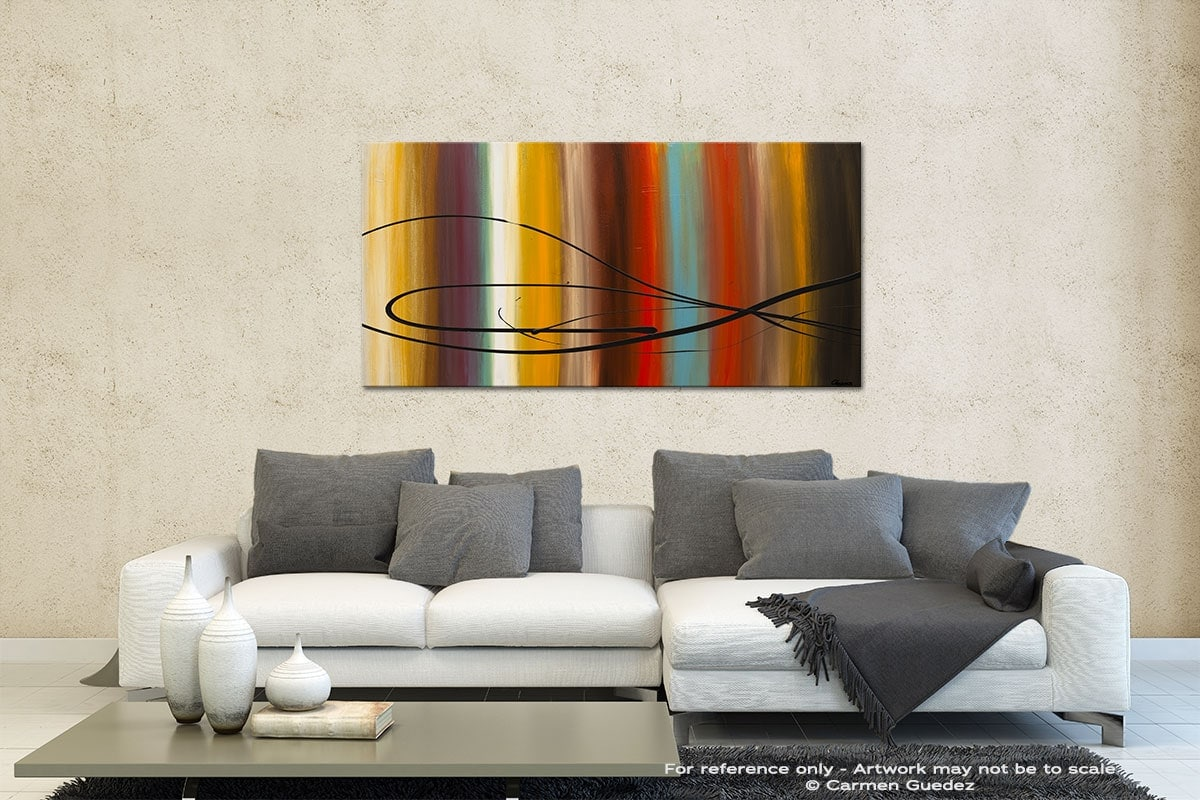 Life Is Good Contemporary Abstract Art Id35