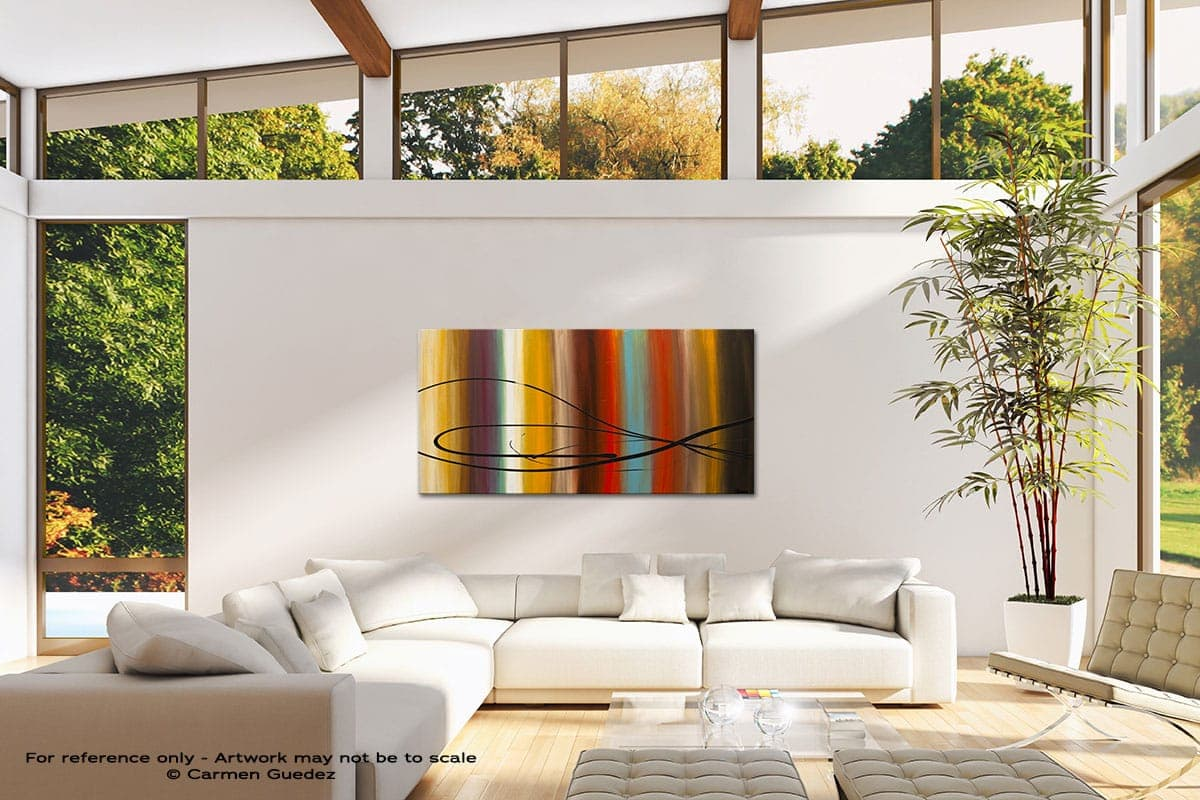Life Is Good Modern Canvas Abstract Art Id38