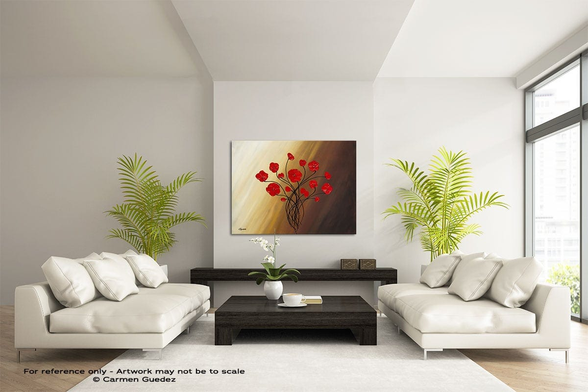 Life Is Grand Large Modern Abstract Art Painting Id49
