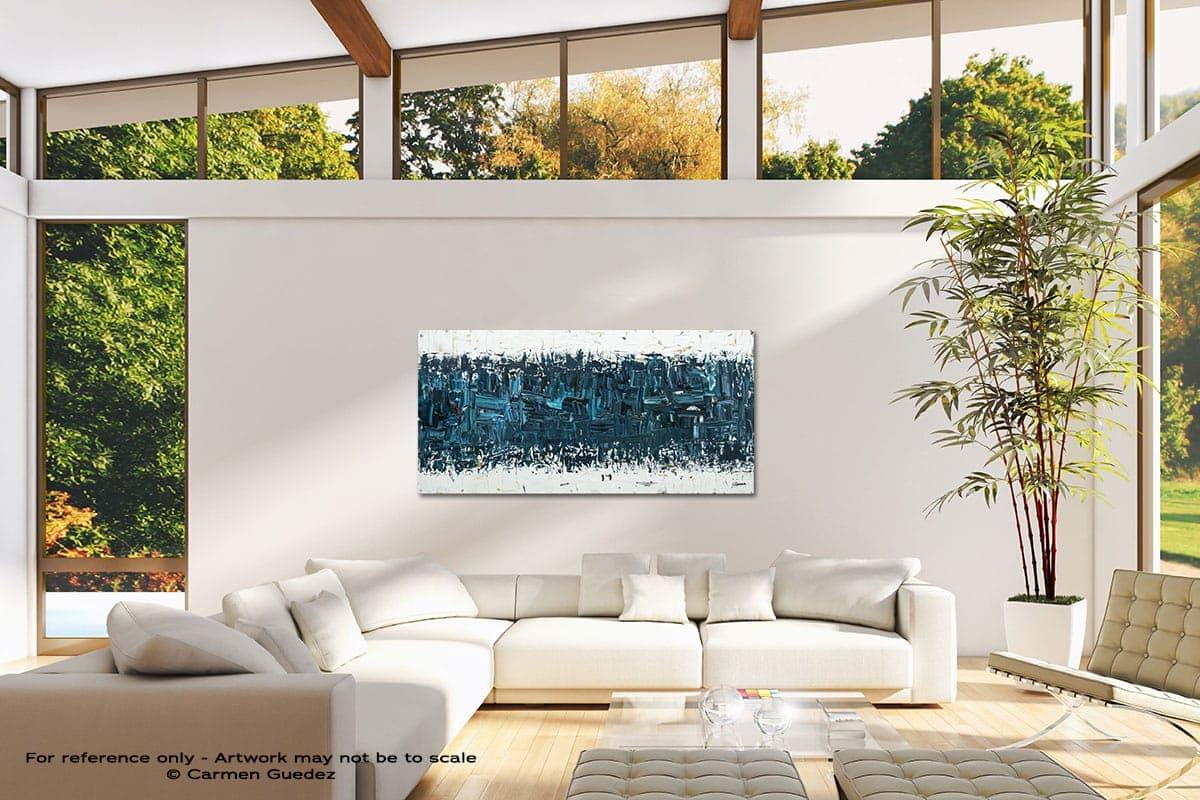 Like Night And Day Modern Canvas Abstract Art Id38