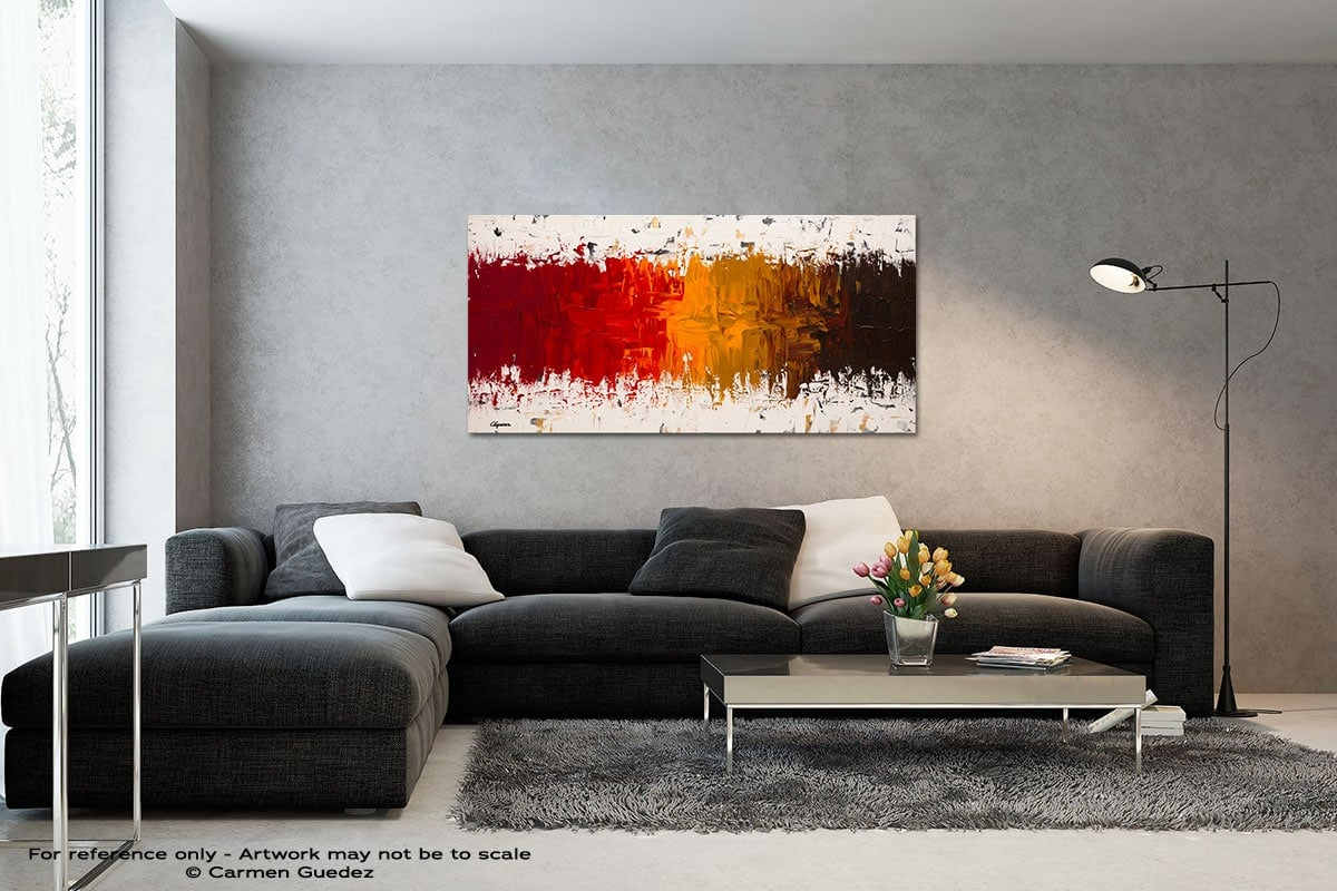 Luminescence Black And White Wall Abstract Art Painting Id70