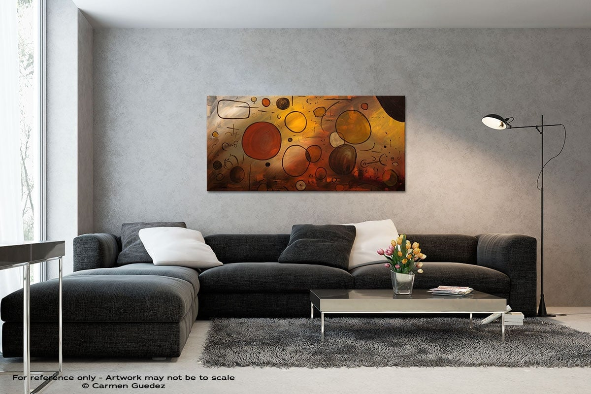 Make A Wish Black And White Wall Abstract Art Painting Id70
