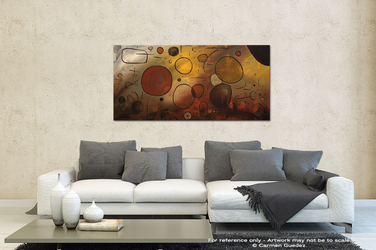 Make A Wish Contemporary Abstract Art Id35