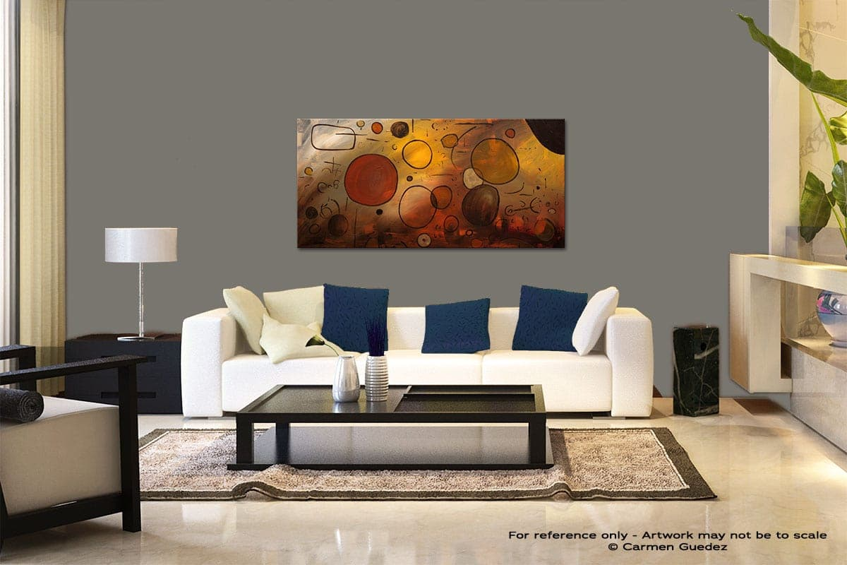 Make A Wish Modern Abstract Art Painting Living Room Id37