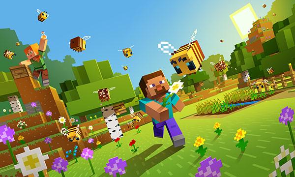 Minecraft Video Game - Mediablock Buzzybees