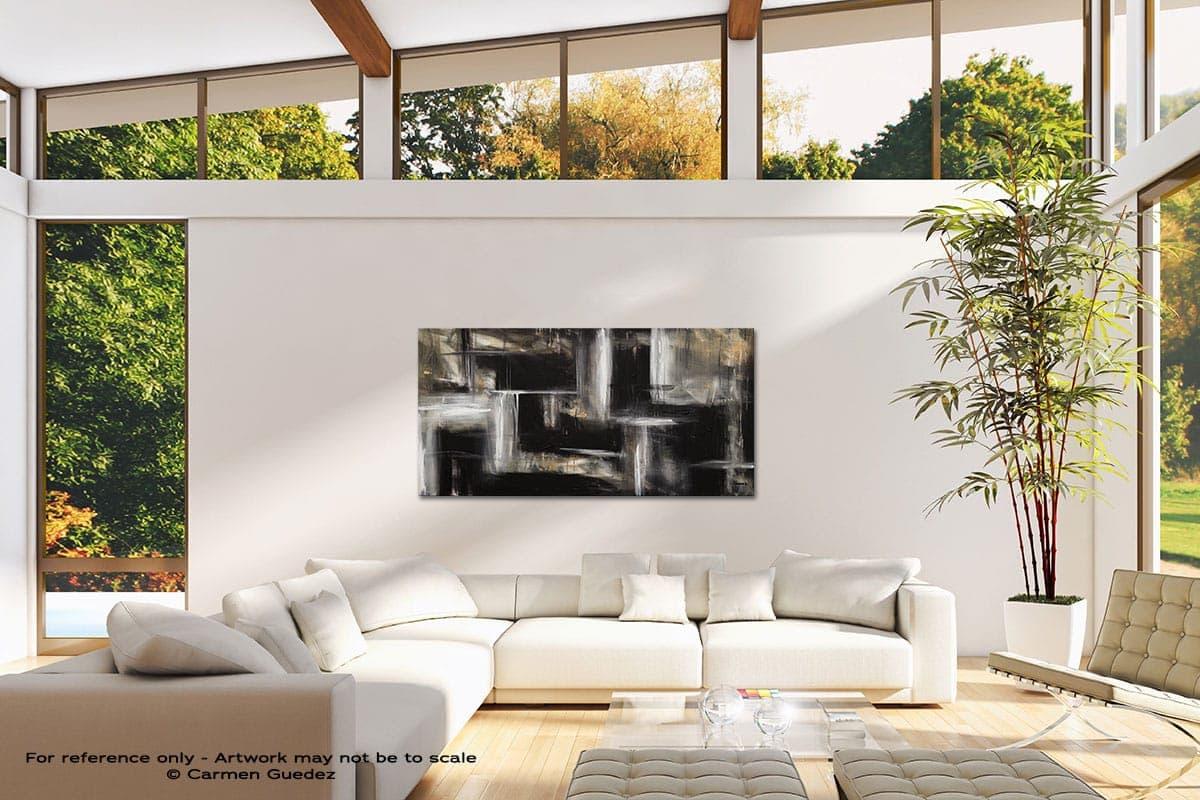 Mind Over Matter Modern Canvas Abstract Art Id38