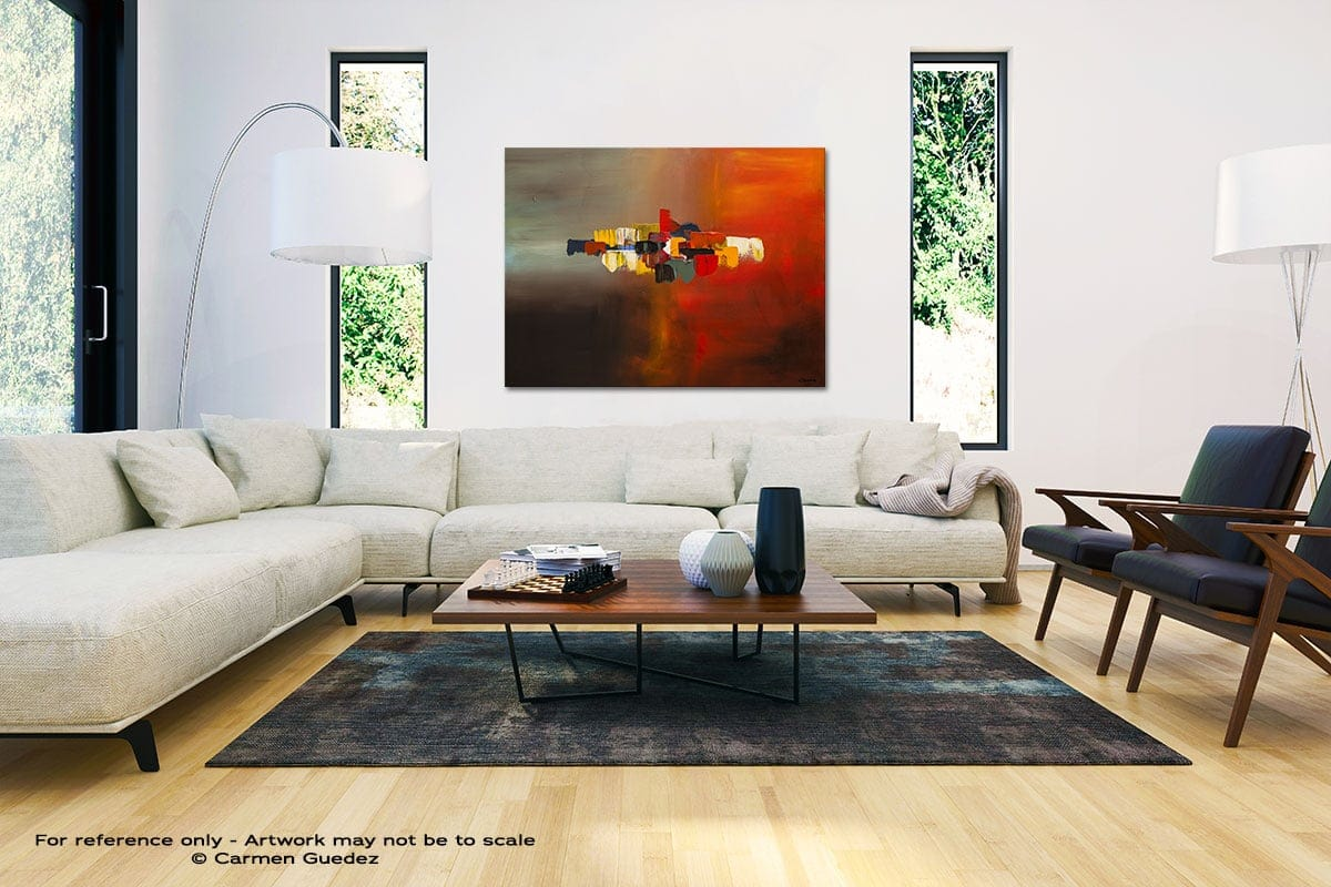 Mindful Black And White Interior Decor Abstract Art Id46