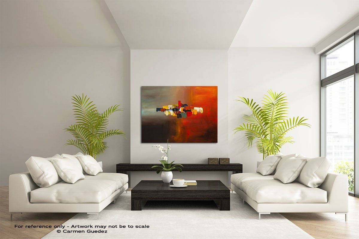 Mindful Large Modern Abstract Art Painting Id49