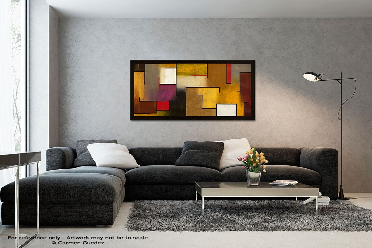 Mistaken Identity Black And White Wall Abstract Art Painting Id70