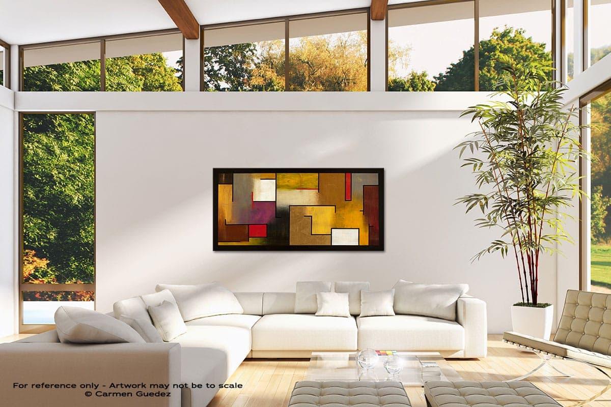 Mistaken Identity Modern Canvas Abstract Art Id38
