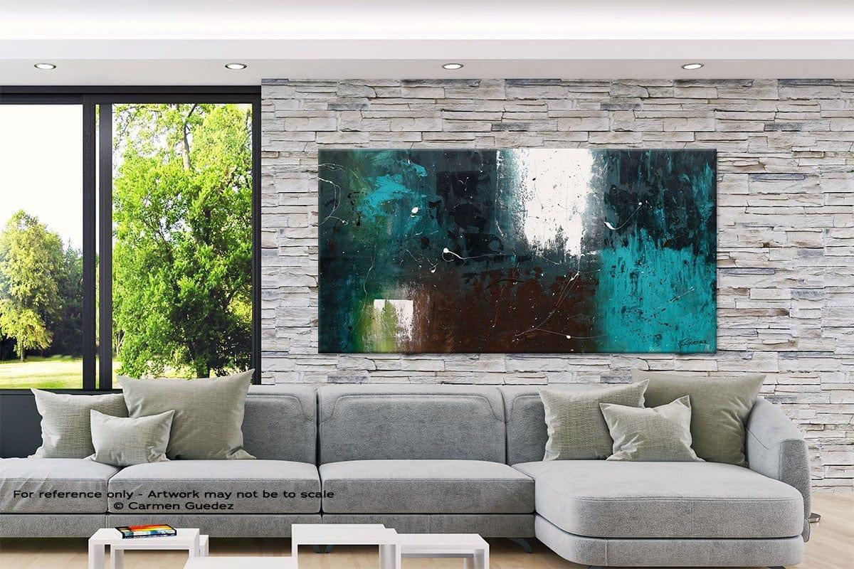 Modern Extra Large Painting Interior Design Id7 Awakening