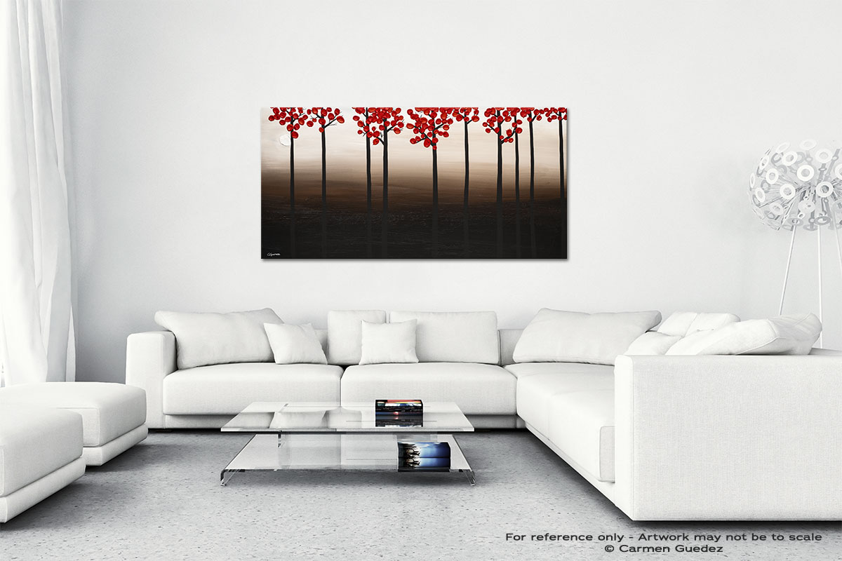 Modern Landscape Wall Art Canvas Painting Id40