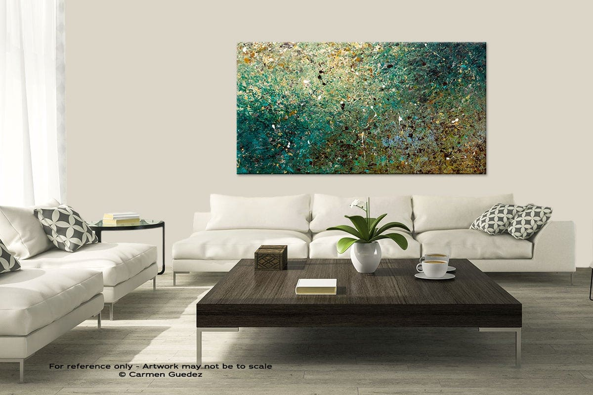 Modern Large Abstract Art Painting Id8 Big Universe