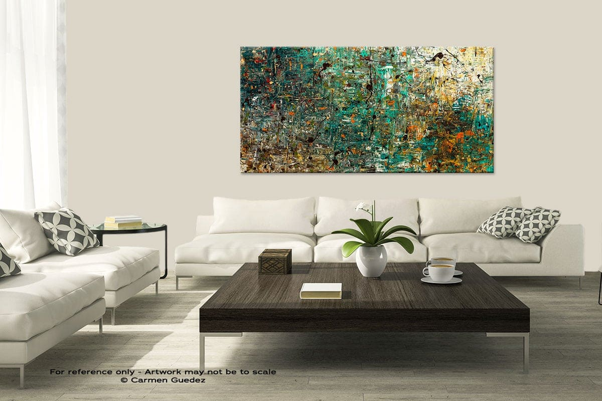 Modern Large Abstract Art Painting Id8 The Abstract Concept