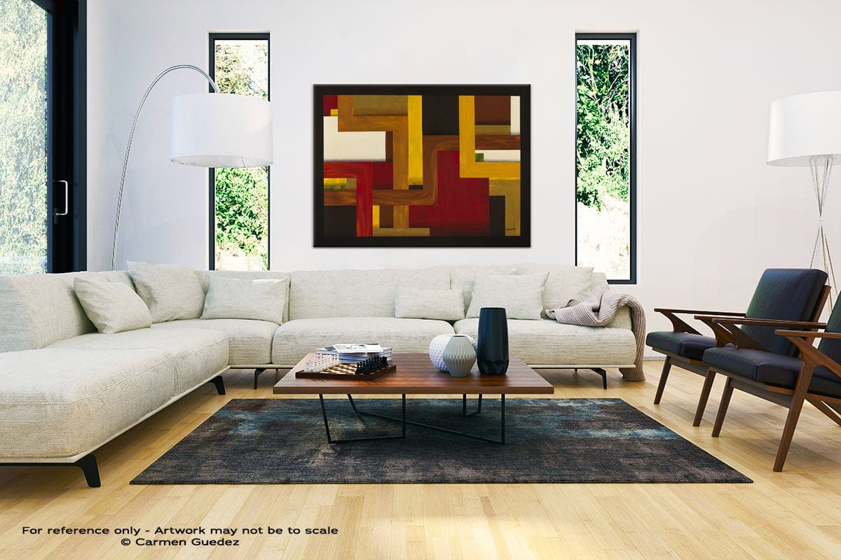 Modern Large Abstract Wall Art Id32 Fortaleza