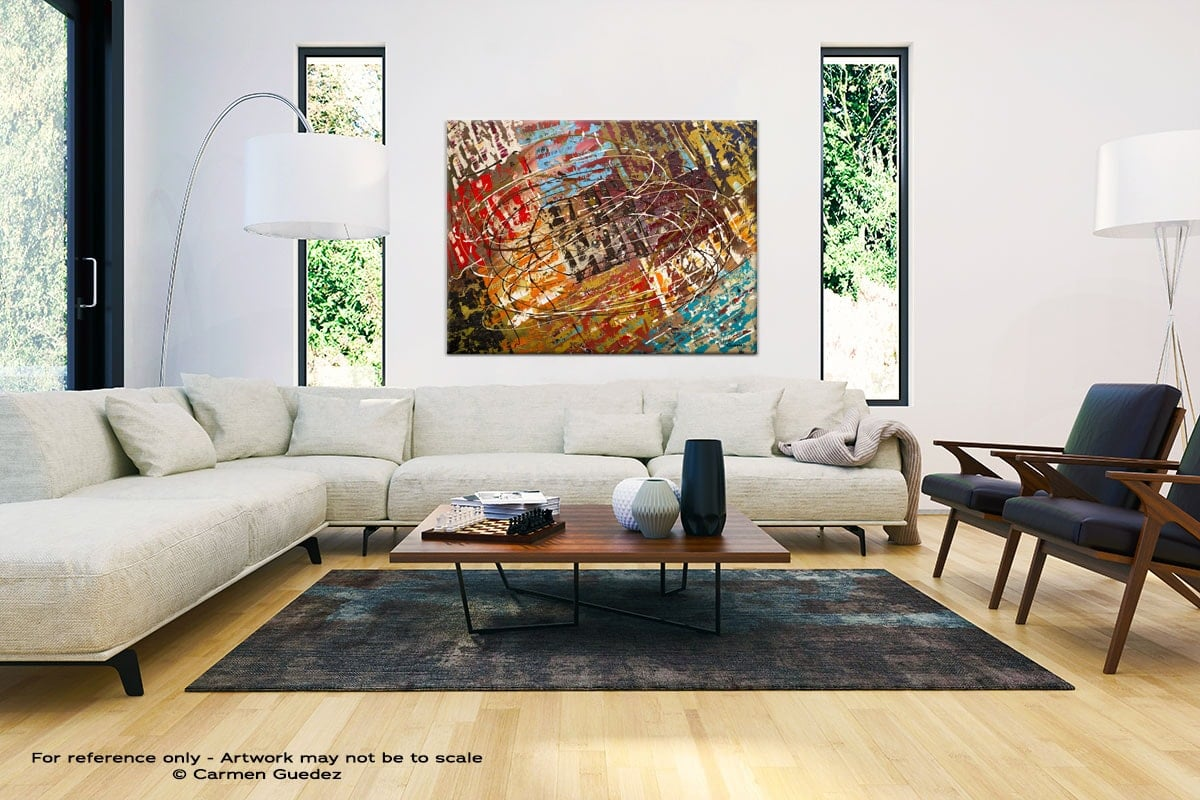 Modern Large Abstract Wall Art Id32 Le Monde