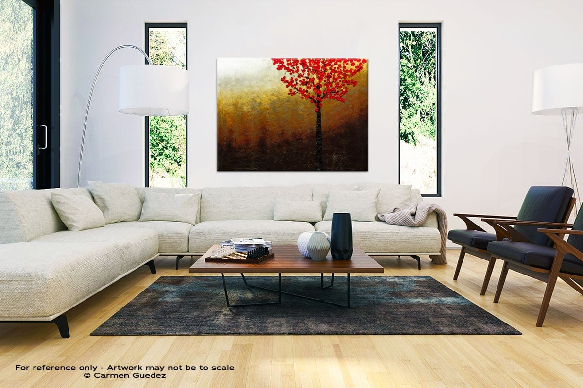 Modern Large Abstract Wall Art Id32 Top Of The Hill