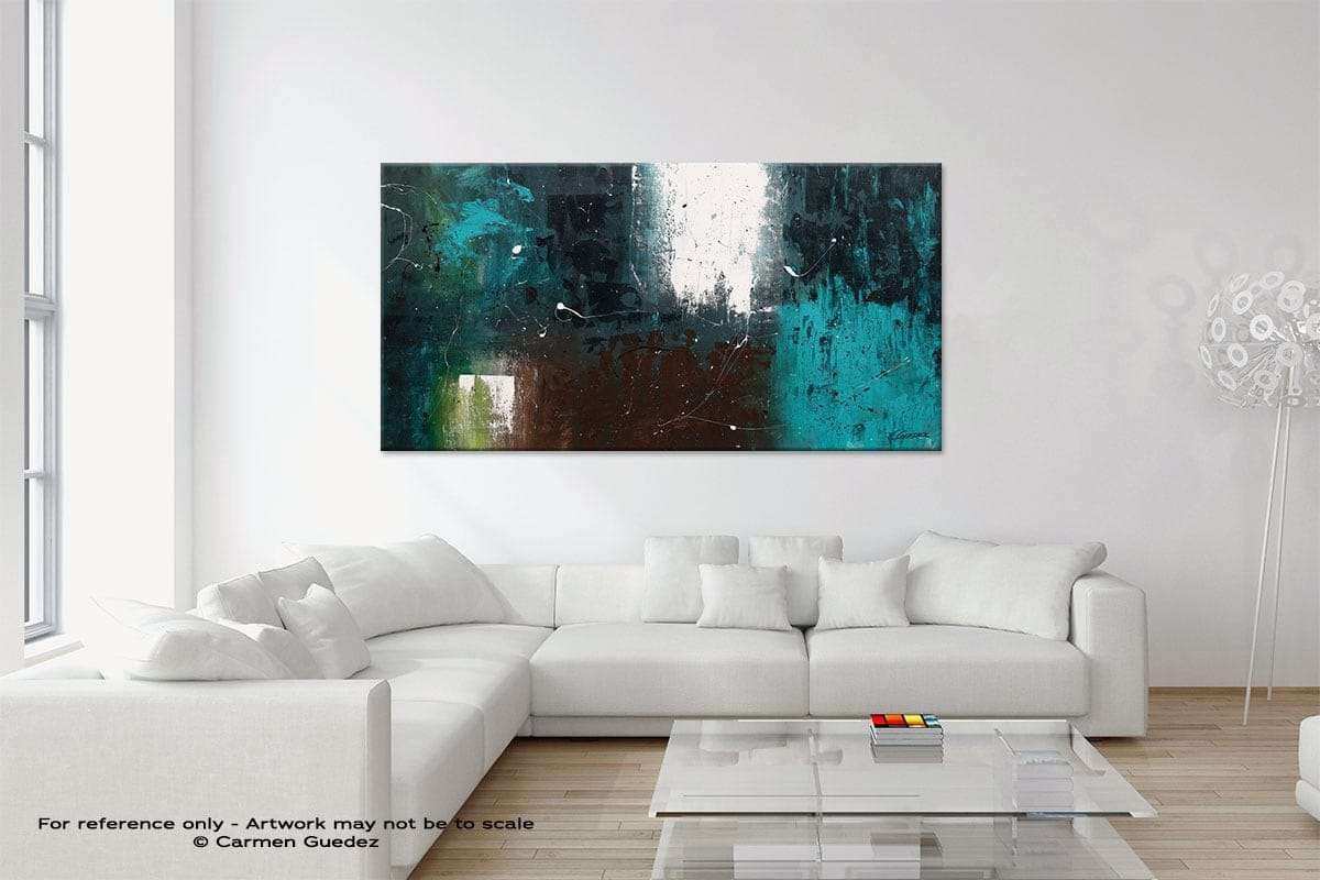 Modern Neutral Abstract Painting Home Id9 Awakening