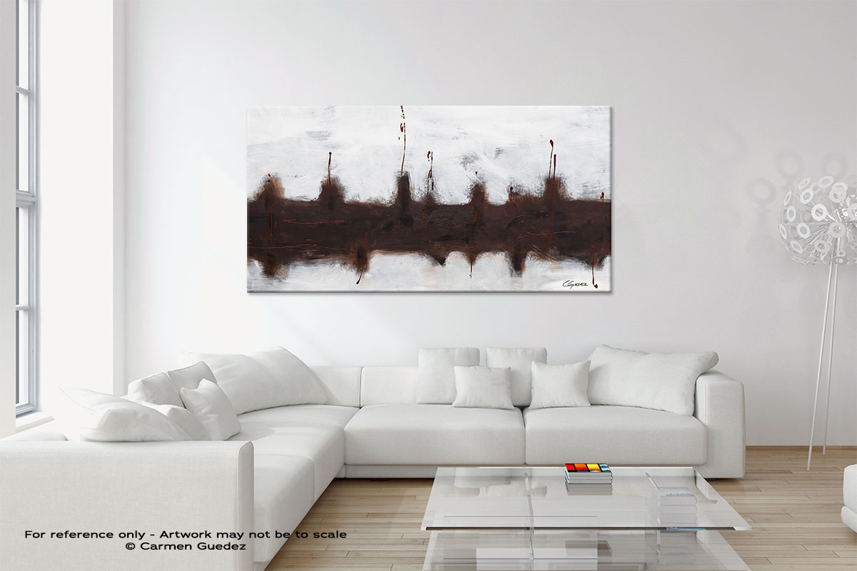 Modern Neutral Abstract Painting Home Id9 Le Port