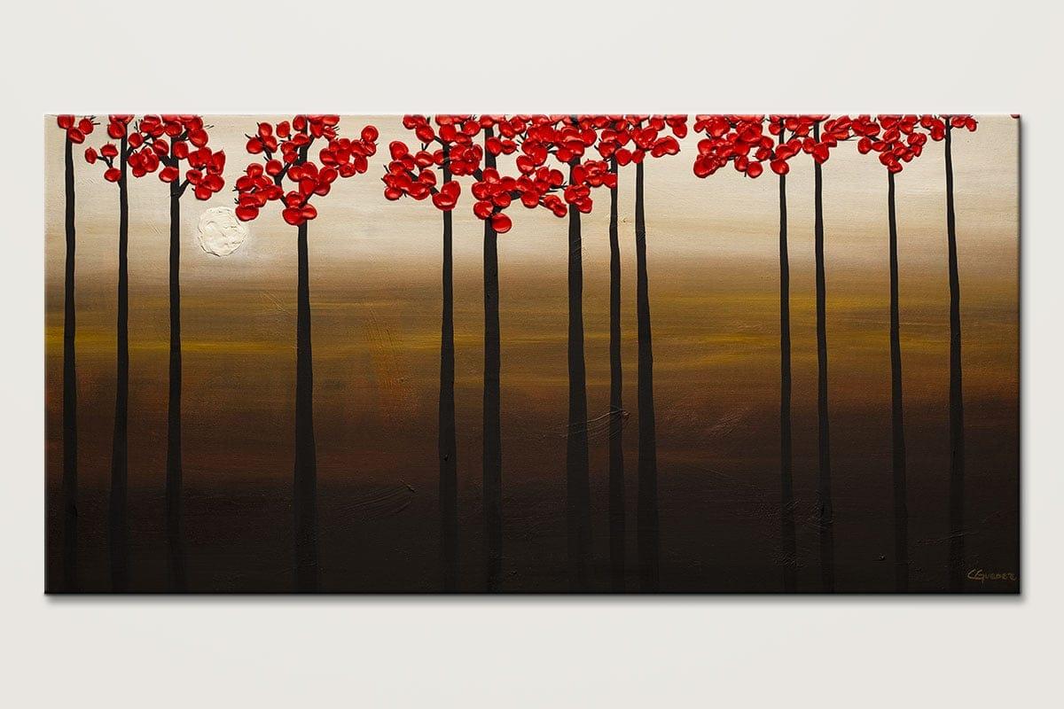 Moonlight Original Abstract Art Painting Id80