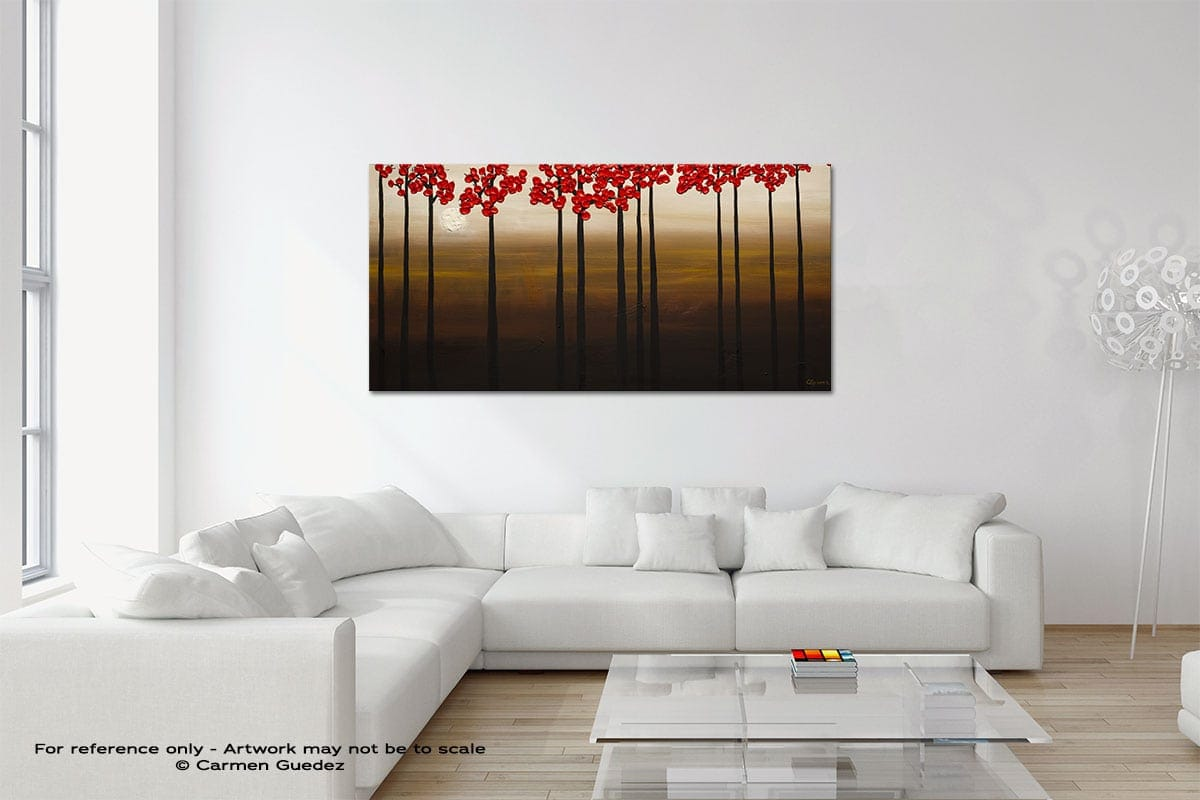Moonlight Original Neutral Abstract Wall Art Room Id39