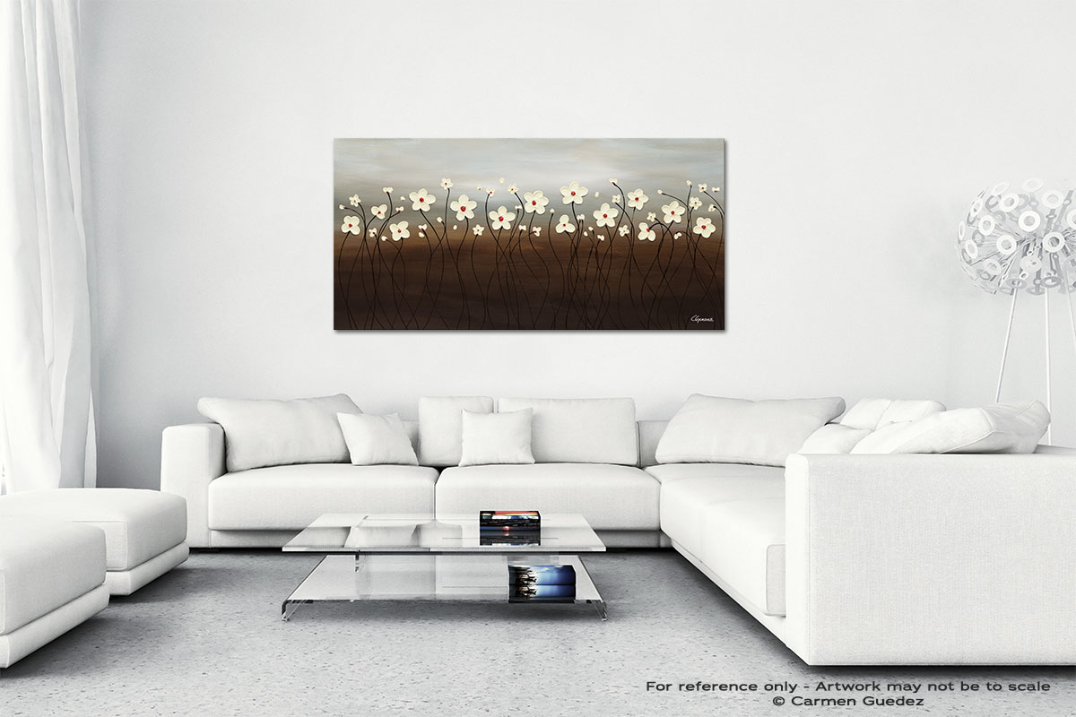 Morning Haze Wall Art Canvas Painting Id40