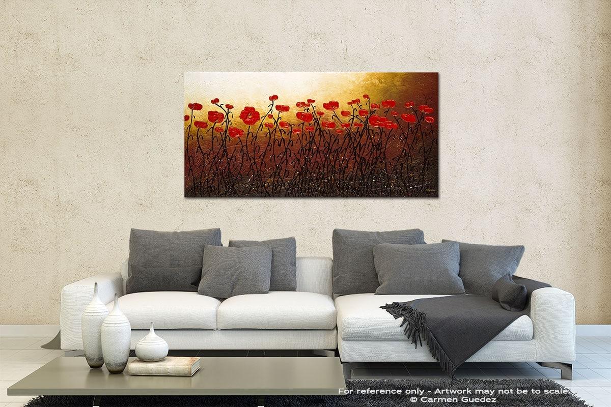Morning Hopes Contemporary Abstract Art Id35