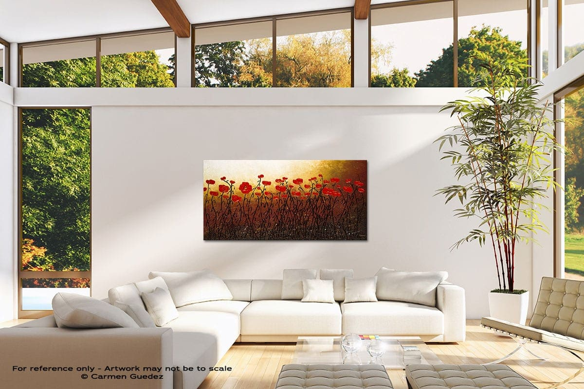 Morning Hopes Modern Canvas Abstract Art Id38