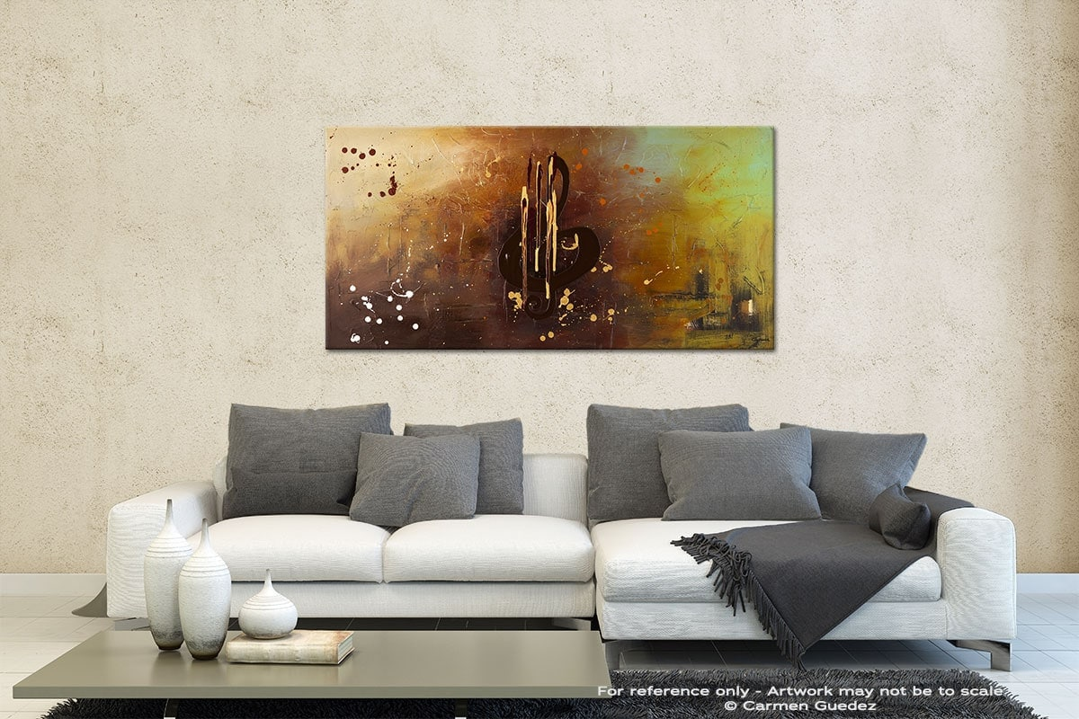 Music All Around Us Contemporary Abstract Art Id35